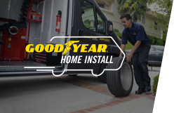 Our Tires. Your Place., Home Install Image