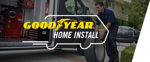 home install, Our Tires. Your Place.