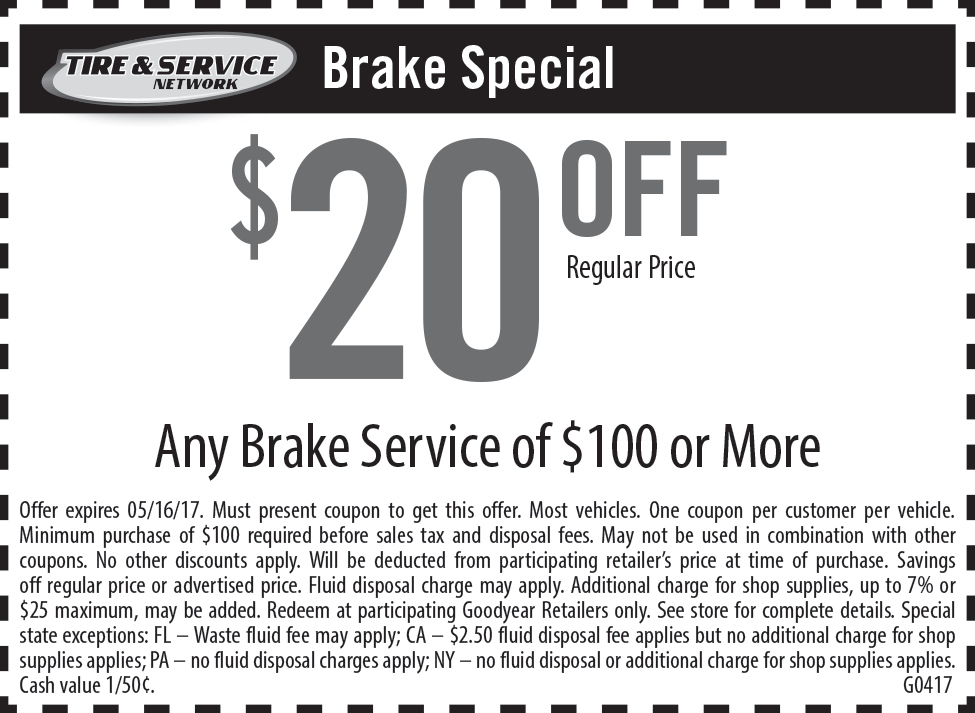 Goodyear 3 year alignment coupon
