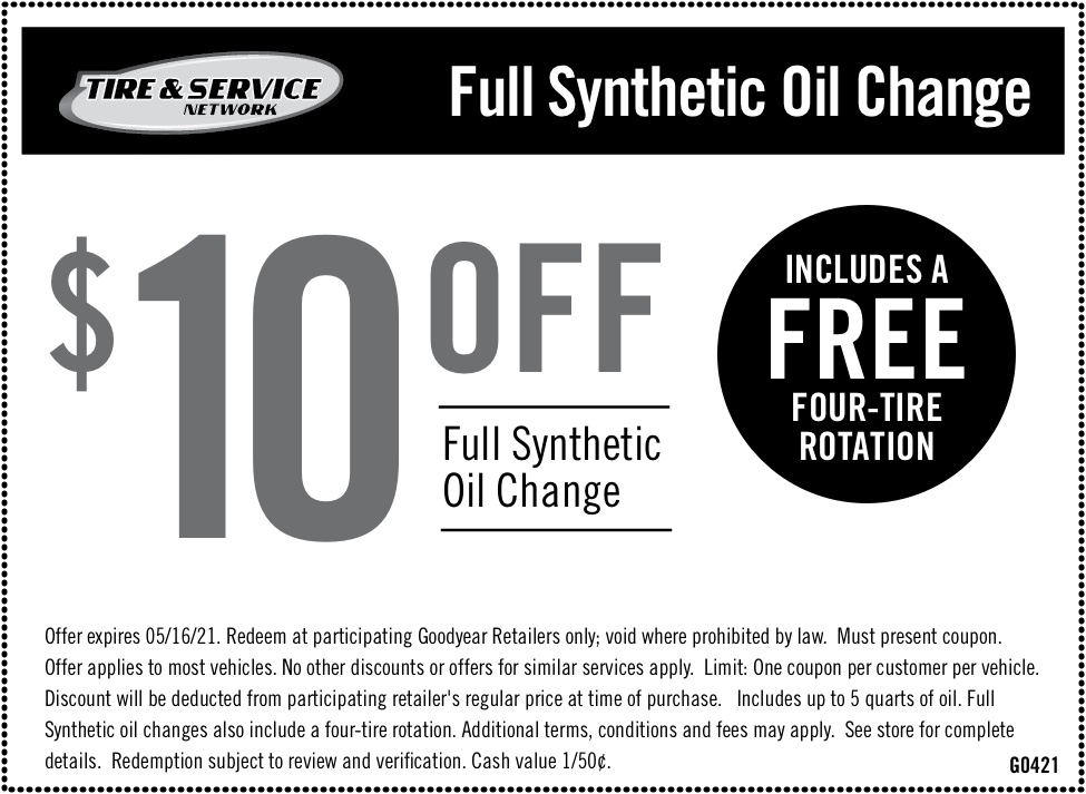 $10 Off Full Synthetic Oil Change | Chimney Rock Car Care