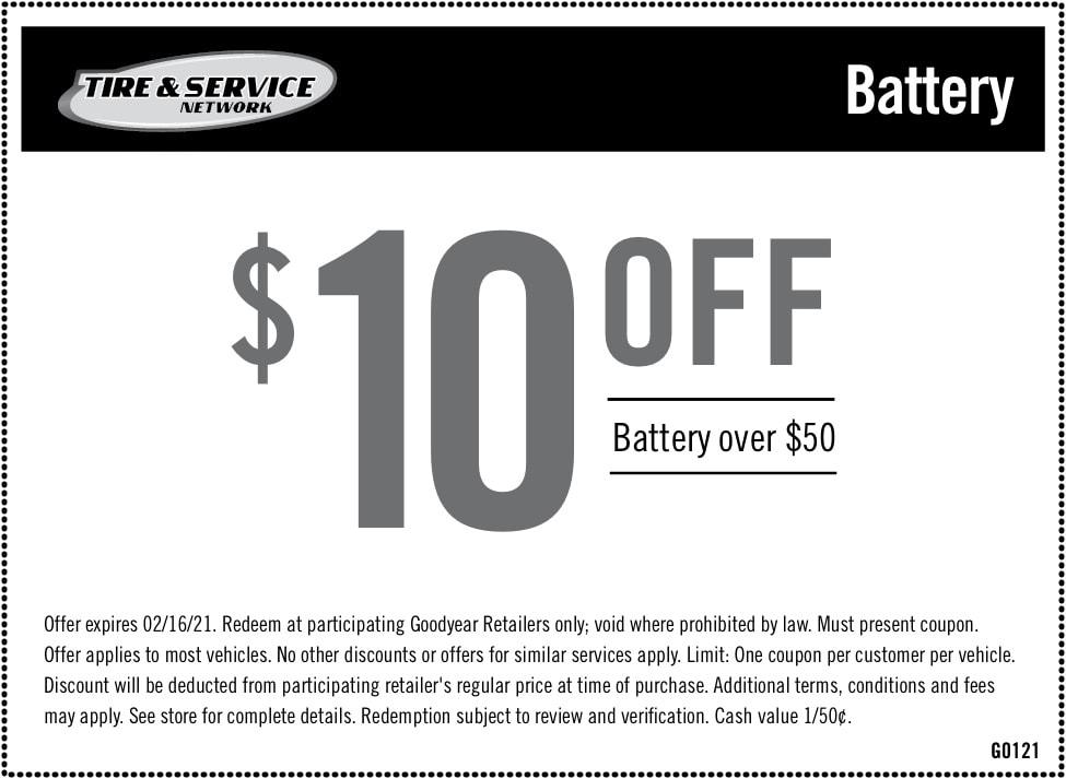 Battery Savings $10 off Regular price   Chimney Rock Car Care