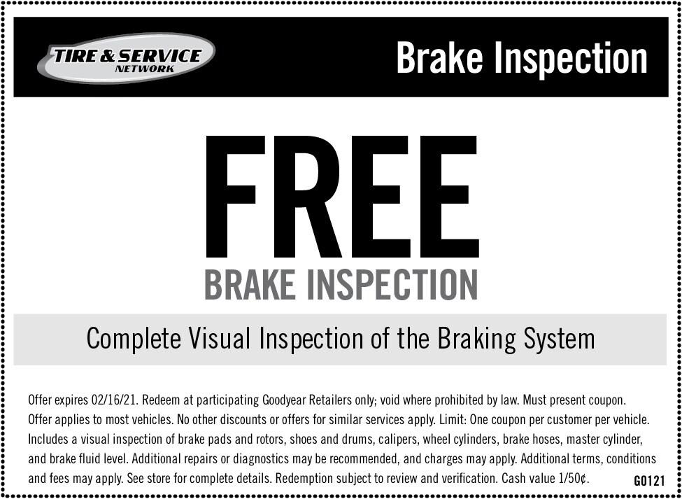 FREE Brake Inspection   Chimney Rock Car Care