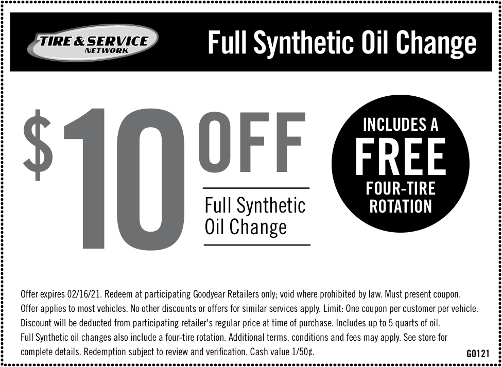 $10 Off Full Synthetic Oil Change   Chimney Rock Car Care