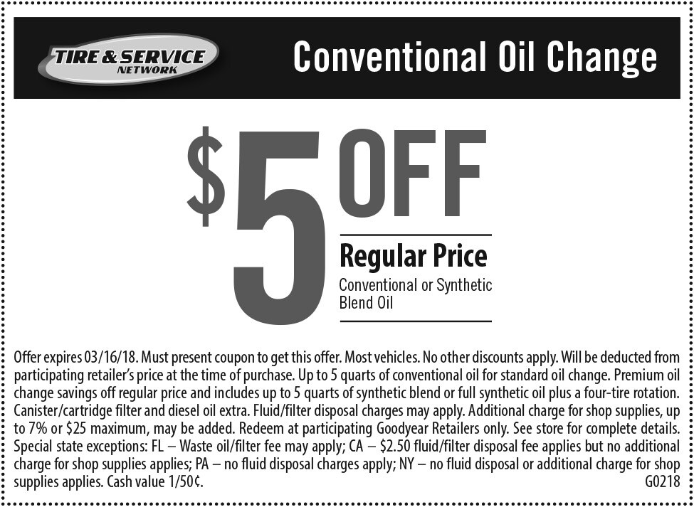 Auto service coupons goodyear tires get coupon fandeluxe Image collections