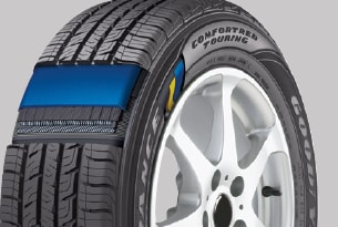 tire sidewall and tread technology
