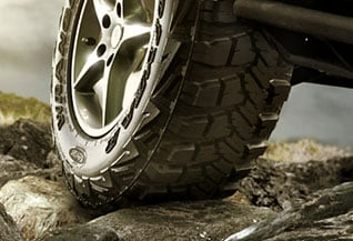 all-terrain tires driving off road