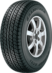 Angled view of the Dunlop Grandtrek® AT23™ tire