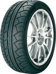 Angled view of the Dunlop SP Sport Maxx® GT 600 DSST® tire