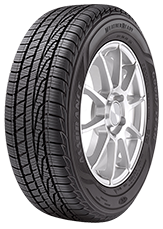 Angled view of the Goodyear Assurance® WeatherReady® tire