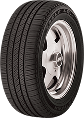 Angled view of the Goodyear Eagle® LS-2 ROF tire