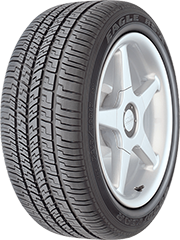 Angled view of the Goodyear Eagle RS-A® tire
