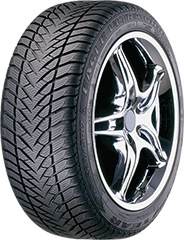 Angled view of the Goodyear Eagle® Ultra Grip® GW-3™ tire