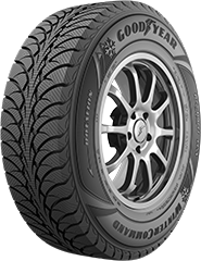 Angled view of the Goodyear WinterCommand® (SUV/CUV) tire