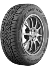Angled view of the Goodyear WinterCommand® Ultra tire