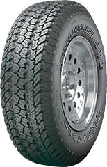 Angled view of the Goodyear Wrangler® AT/S tire
