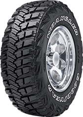 Tire Image - Wrangler MT/R<sup>®</sup> With Kevlar<sup>®</sup>
