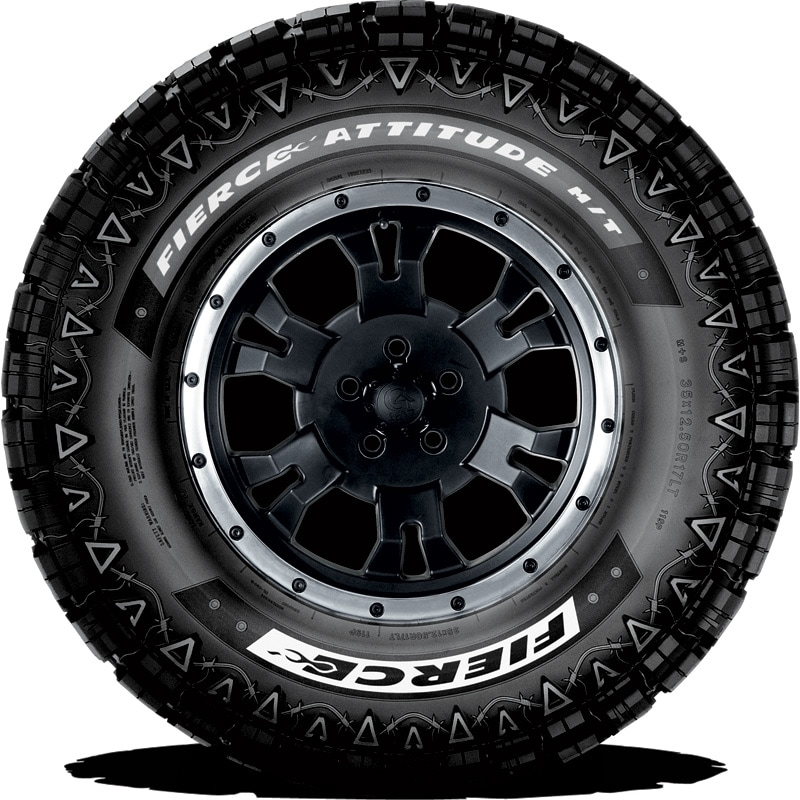 Fierce Attitude M T Tires Goodyear Tires