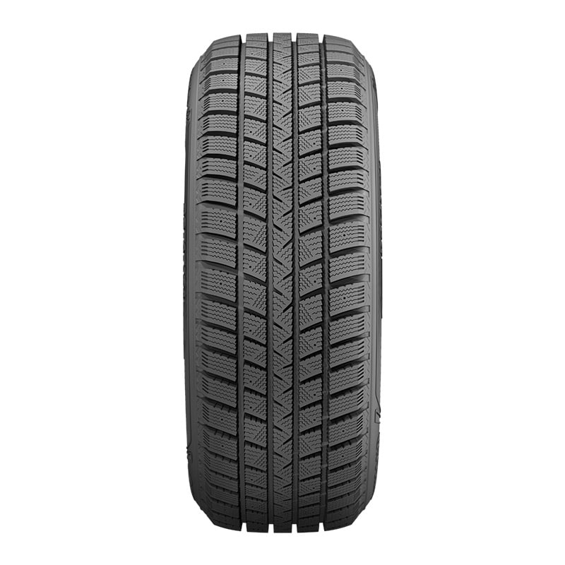Front tread view of the Goodyear WinterCommand™ tire designed for harsh winter weather