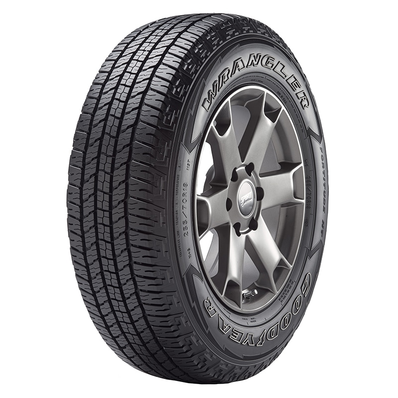 Goodyear tire and jeep
